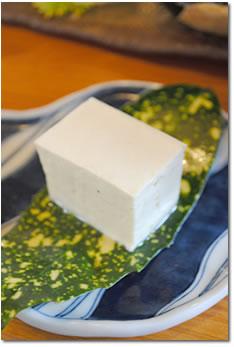 秋月とうふ家の豆腐